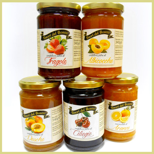 Marmalade and fruit jams